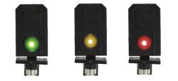 Train Tech DCC Signal (LH Feather) - Multi 3 Aspect HO/OO Gauge TTDS9L