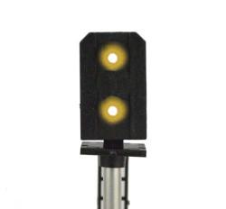 Train Tech DCC Signal (LH Feather) - Multi 4 Aspect HO/OO Gauge TTDS10L