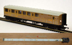 Train Tech Automatic Coach Lighting - Warm White/Constant Tail HO/OO Gauge