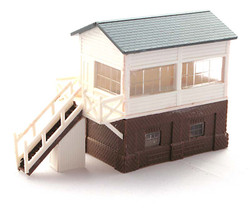 Kestrel Small Signal Box Kit N Gauge GMKD12