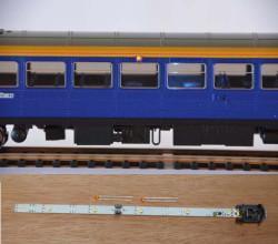 Train Tech Automatic Coach Lighting - Warm White/Amber Door HO/OO Gauge TTCL29