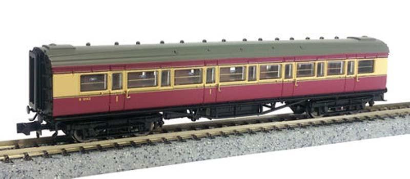 Dapol Maunsell BR Composite Coach SR Green 5150 N Gauge DA2P-012-453