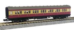 Dapol Maunsell BR 1st Class Coach Crimson/Cream 7670 N Gauge DA2P-012-601