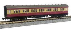 Dapol Maunsell BR 1st Class Coach Crimson/Cream 7669 N Gauge DA2P-012-600