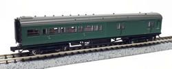 Dapol Maunsell BR Brake 3rd Class Coach SR Green 3221 N Gauge DA2P-012-356