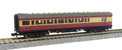 Dapol Maunsell BR Brake 3rd Class Coach Crimson/Cream 4481 N Gauge DA2P-012-651