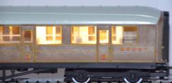 Train Tech Automatic Coach Lighting - Warm White/Standard N Gauge TTCN2