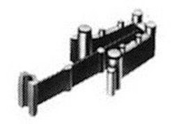 Fleischmann Profi Coupling Head Adjustable Height Adaptor for FM9573 N Gauge