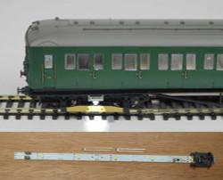 Train Tech Automatic Coach Lighting Multipack - Cool White B (2) HO/OO Gauge