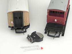 Train Tech Automatic Lighting Effects - Flickering Tail/Fire HO/OO Gauge TTAL2