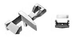 Fleischmann Standard Coupling Flat Centre Spring/Cover Plate/Short Lug N Gauge