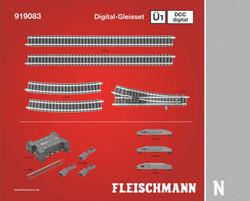 Fleischmann Profi Digital Track Set U1 N Gauge FM919083
