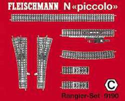 Fleischmann Profi Track Shunter Set C N Gauge FM9190