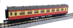 Dapol Collett Coach BR Crimson/Cream Composite W7026 N Gauge DA2P-000-034