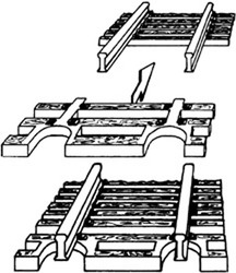 Fleischmann Flexible Track Sleeper Sections (1) N Gauge FM22215