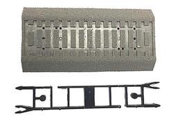 Rocoline Ballasted Concrete Sleeper Trackbed HO Gauge RC42661