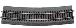 Roco Rocoline Ballasted Curved Track Radius 9 15 Degree 826.4mm HO Gauge RC42527