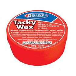 Deluxe Materials Tacky Wax (28g) Z/N/TT/HO/OO/O/G1/G/SLOT Gauge DLAD-29
