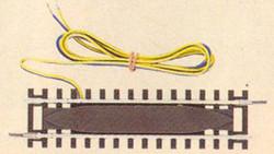 Roco Rocoline Analogue Feeder Straight Track 115mm HO Gauge RC42421