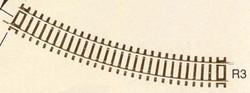Roco Rocoline Curved Track Radius 3 30 Degree 419.6mm HO Gauge RC42423