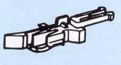 Roco Close Coupler Head with Advanced NEM362 Uncoupler (4) HO Gauge RC40270