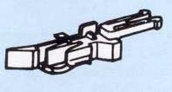 Roco Close Coupler Head with Advanced NEM362 Uncoupler (50) HO/OO Gauge RC40271