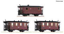Roco *RUKB Coach Set (3) I HOE Gauge RC34043