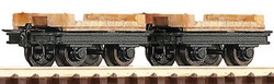 Roco Bridge Wagons (2) HOE Gauge RC34607