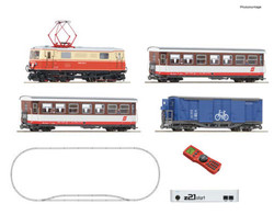 Roco OBB Rh1099 Mixed Traffic Starter Set V (DCC-Fitted) HOE Gauge RC31033