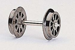 Fleischmann AC Spoked Wheelset 23.5mm HO Gauge FM6562