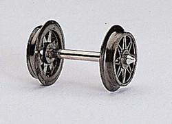Fleischmann AC Double Spoked Wheelset 24mm HO Gauge FM6563