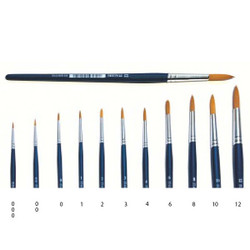 ITALERI Tools 3 Script Liner Synthetic Brush A51266