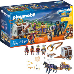 PLAYMOBIL: The Movie - Charlie with Prison Wagon 70073