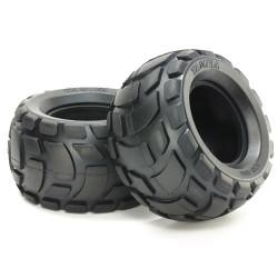 TAMIYA 54866 Ribbed R Bubble Tires Soft 2pcs RC Car Spares