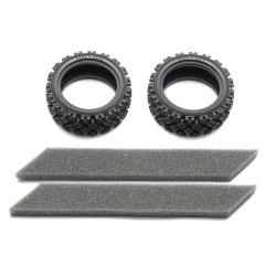 TAMIYA 54861 Rally Block Tires (soft/2pcs) RC Car Spares