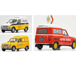EBBRO E25012 Renault 4 Service Van (Three Liveries) 1:24 Plastic Model Kit