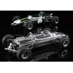 EBBRO E017 Brabham Honda BT18 (Clear Cowling) 1:20 Plastic Model Kit