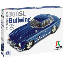 ITALERI 3645 Mercedes Benz 300SL Gullwing 1:24 Plastic Model Kit