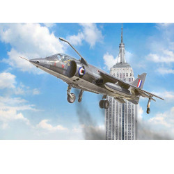 ITALERI 1435 RAF Harrier GR.1 50 Year Air Race 1:72 Plastic Model Kit