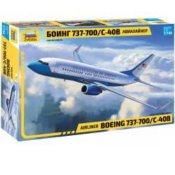 ZVEZDA Z7027 Boeing 737-700 1:144 Plastic Model Kit