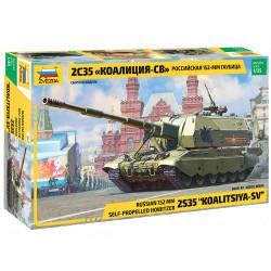 ZVEZDA Z3677 2S35 Koalitsiya - SV 1:35 Plastic Model Kit
