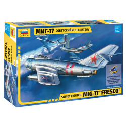 ZVEZDA Z7318 Mig-17 Fresco 1:72 Plastic Model Kit