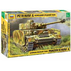 ZVEZDA Z3674 Panzer IV Ausf G 1:35 Plastic Model Kit