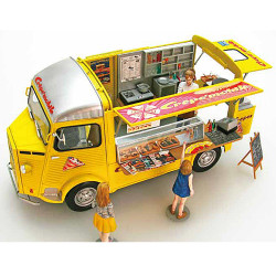 EBBRO E25013 Citroen H Van Crepe Mobile with Figure 1:24 Plastic Model Kit