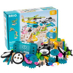 BRIO 34591 Builder Motor Set - Wooden Train Set