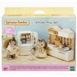 SYLVANIAN Families Kitchen Play Set Dolls Furniture 5341