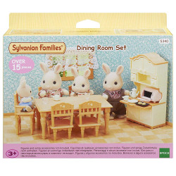 SYLVANIAN Families Dining Room Set Furniture 5340