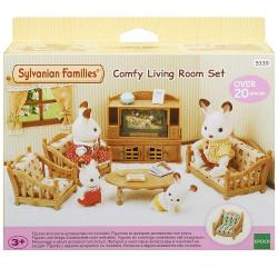 SYLVANIAN Families Comfy Living Room Set Furniture 5339