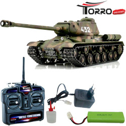 TORRO 1:16 RC IS-2 1944 Tank IR Camo Pro-Edition 1113928003