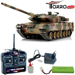 TORRO 1:16 RC Leopard 2A6 Tank IR NATO Desert Pro-Edition 1113889001